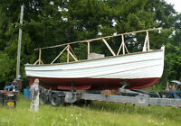 32 foot Classic wooden boat for sale