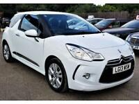 2013 Citroen DS3 Airdream DStyle 1.6e-HDi 90bhp £0 Road Tax Warranty delivery PX