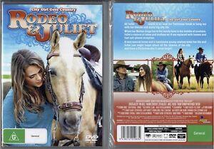 Rodeo & Juliet * NEW DVD * Lauren Alexandra girl country horse family movie