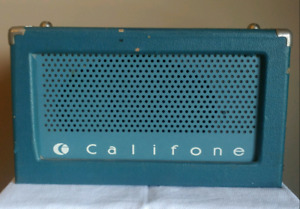 Vintage CALIFONE Record Player Speaker