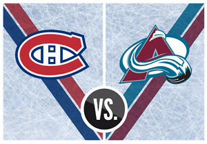 CANADIENS VS COLORADO GREYS SATURDAY DEC 10TH(3x308C)