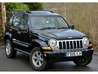 Jeep Cherokee 3.7 ( 201bhp ) 4X4 Auto Limited Black 2006