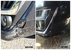 body work specialist for bumper crack, paint, scratches rust etc