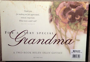 For a very special Grandma - 2 book gift set - NEW