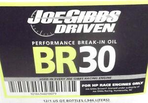joe gibbs driven-br-30 breaking oil 5w30x7 pintes
