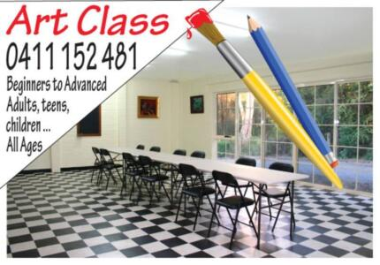 Art Classes Melbourne. Drawing lessons. Painting lessons  Mooroolbark Yarra Ranges Preview