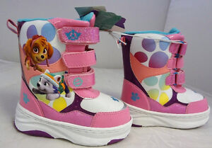 NEW WITH TAGS- TODDLER Size 5/6 & 7/8 - PAW PATROL WINTER BOOTS