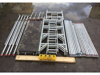 6.2m Working Height Eiger 500 Aluminium Scaffold Tower Like Boss Youngman