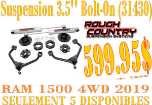 """Rough Country Susp 3.5"""" Ram 1500 4WD 2019 (Bolt On) 31430"""