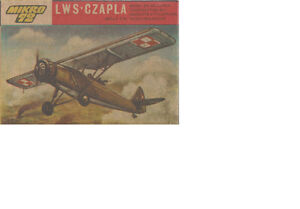 LWS-CZAPLA Model Aircraft Kit 1:72 Scale
