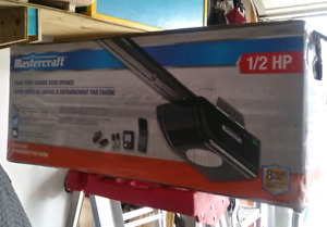 Mastercraft Chain Drive Garage Door Opener 1/2 HP