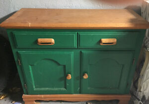 real wood hutch and buffet London Ontario image 1