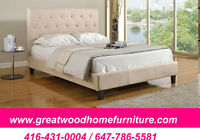 **** BRAND NEW QUEEN SIZE UPHOLSTERY BED...$299 ****