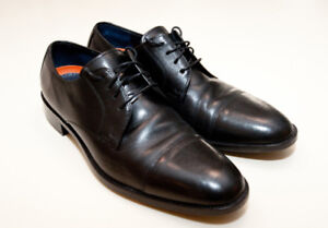 Cole and Hahn Black Oxford dress shoes