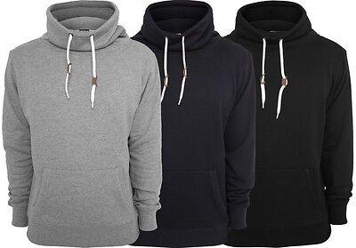 Urban Classics Pulli High Neck Pocket Crew Sweatshirt Pullover Sweat High Neck Sweatshirt