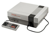 NES System, Games, Controller, Zapper - Fully Working