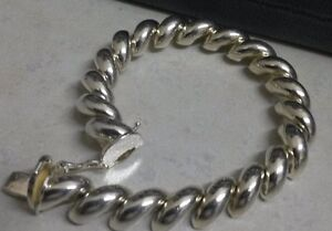 ON SALE NOW...50% OFF 925 SILVER BRACELET ITALY