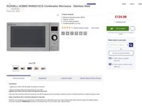 Russell Hobbs combination microwave oven 900W 25L