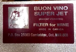 Four  wine Filter Machines Windsor Region Ontario image 1