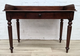 Victorian Mahogany Table/ Desk (DELIVERY AVAILABLE)