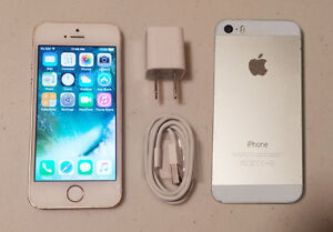 iPhone 5S Bell/Virgin 16GB Gold, Mint condition.