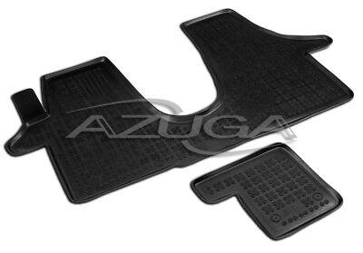 3D Gummi-Fußmatten für VW Transporter T5/T6 vorn Hohe Gummimatten Automatten ()