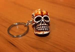 Creepy Skull Key Chain