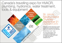 Expo for plumbing, hydronics, HVAC and water treatment