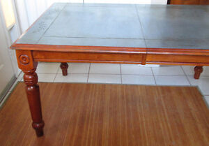 Solid Teak Vintage Dining room Table from Malaysia