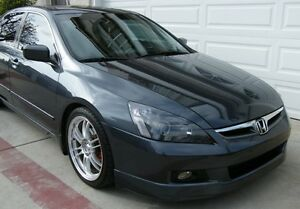 HONDA ACCORD 4DR HFP FRONT LIP 2006 2007