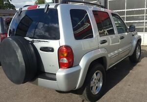 2003 Jeep Liberty Limited SUV, Crossover 2 YRS WAR LOW KM Cambridge Kitchener Area image 6
