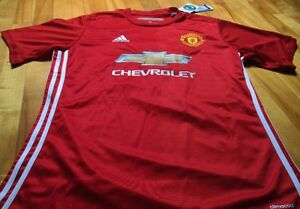 Jersey (chandail) MANCHESTER UNITED 2017 - ROONEY - HOME - FAN