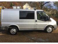 2012 Transit Crew Van - No VAT - 12 months MOT very clean and tidy