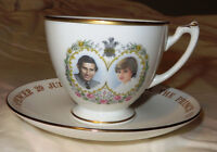 Prince Charles Lady Diana Wedding Cup and Saucer - $25