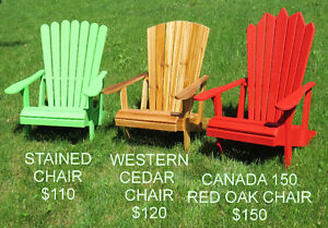 adirondack chairs made to order