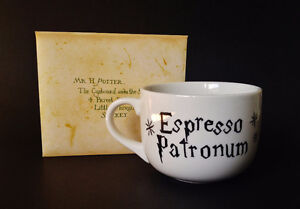 "Harry Potter Inspired, Hand-Painted Mugs ""Espresso Patronum"" Kitchener / Waterloo Kitchener Area image 1"