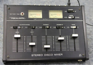 Realistic Stereo Mixing Console - Model 32-1100A