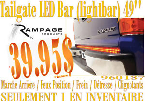LIQUIDATION-Rampage-Tailgate LED Light Bar 49 pouces (960137)