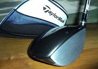 TAYLOR SLDR RH STIFF WITH HEADCOVER V.G. CONDITION