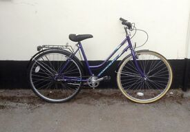 "LADIES 3 SPEED BIKE 18"" FRAME £65"