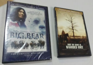 2 Native American History DVDS
