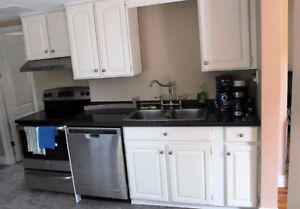 Jan 1:Furnished bed room rent all inclusive available in Dwntown