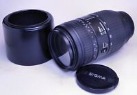 SIGMA 70-300mm Zoom Lens for NIKON