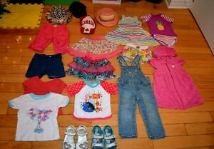 Toddler Girl Summer Wardrobe. 19 Items. MINT CONDITION