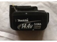 MAKITA 14.4V LITHIUM-ION BATTERY 3.0 AH FOR SALE