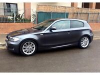 BMW 123d M Sport 2008 Manual Space Grey Immaculate
