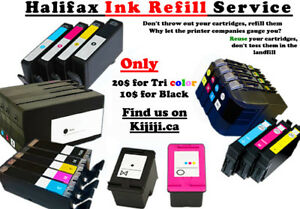 Ink Refill Service for Inkjet Printers