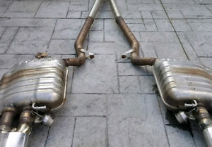 B7 Audi RS4 catback exhaust with deleted resonators