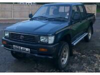 1997 Toyota Hilux DOUBLE CAB MK3 ONLY 65000 MILES WARRANTED Pickup Diesel Manual