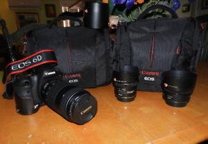 Canon Kit, 6D Full Frame ,,Pro..